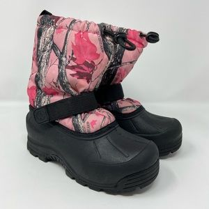 Northside Thermolite Pink Camo Youth Boots Sz 1Y